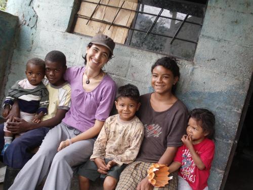 Viaje a Ecuador, en la Comunidad de Tablas, 2011