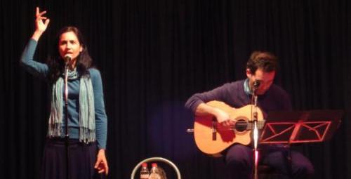 Actuación en Granada junto a Luis Guitarra, 2013