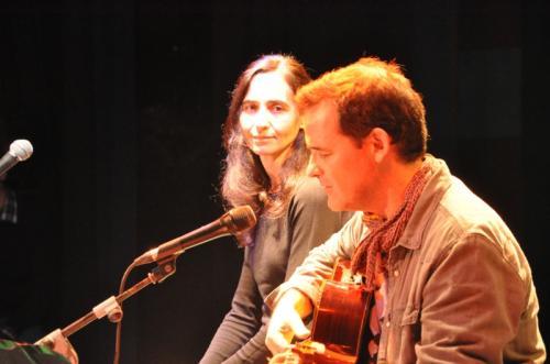 Festival EsperanzARTE (Zaragoza) junto a Luis Guitarra, 2014