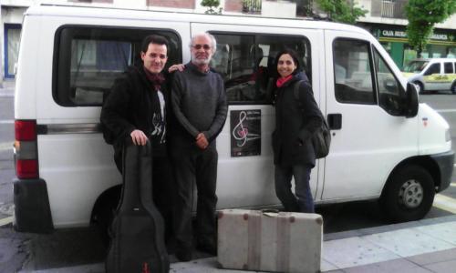 Actuaciones en Mogarraz (Salamanca) junto a Venancio y Luis Guitarra, 2014
