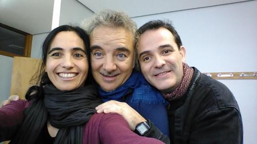 Actuación en Burgos junto a Migueli y Luis Guitarra, 2016