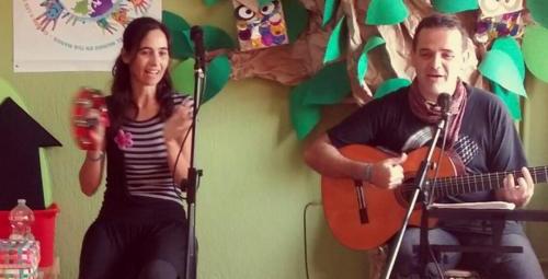Cuentacuentos Infantil en Málaga, junto a Luis Guitarra, 2016